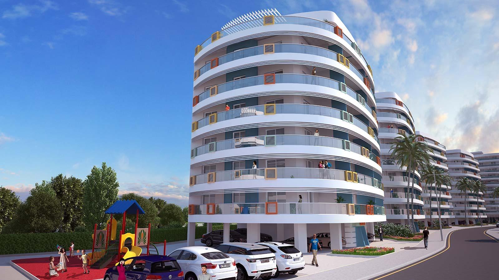پروژه آپارتمانی ساحلی در نزدیکی دریا