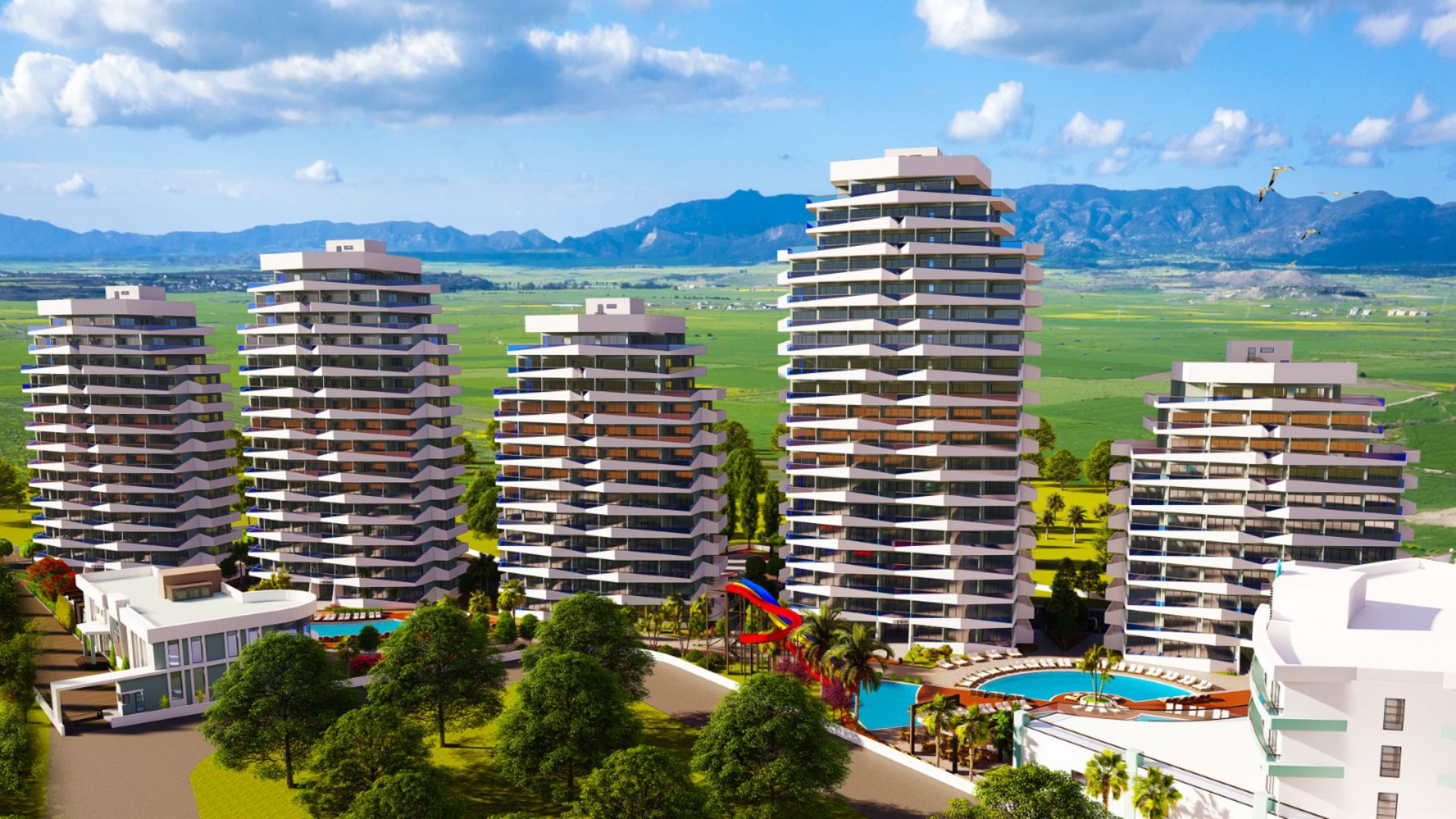 پروژه ی آپارتمانی جدید ساحلی