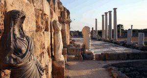 بقایای شهر سالامیس قبرس شمالی