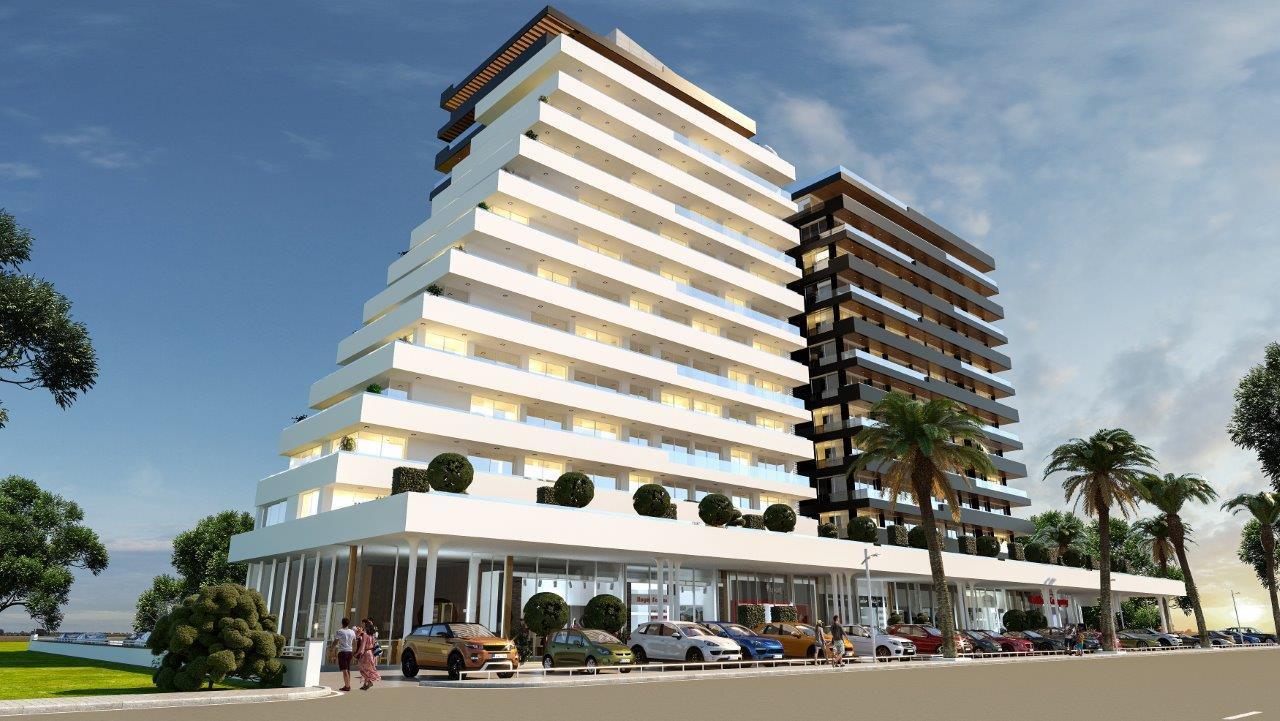 پروژه آپارتمانی مدرن در مرکز شهر فاماگوستا